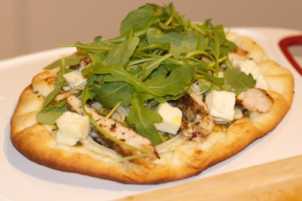 Chicken Fennel & Feta Flatbread