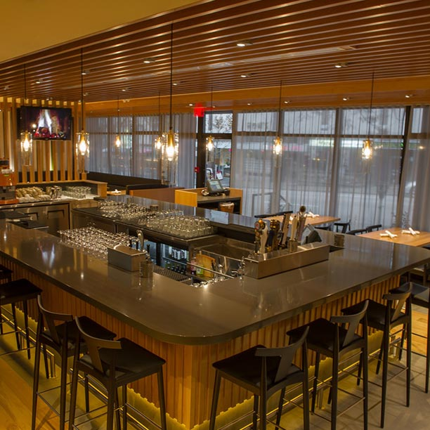 The bar - Photo Credit: Forage
